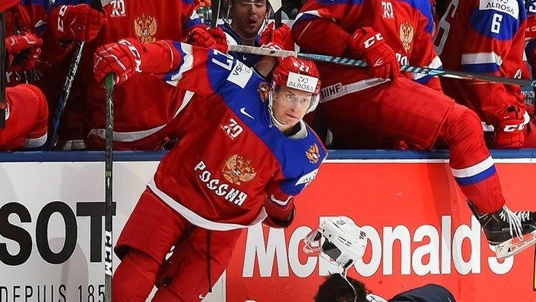 Сборная России должна уверенно победить Словакию. Фото IIHF