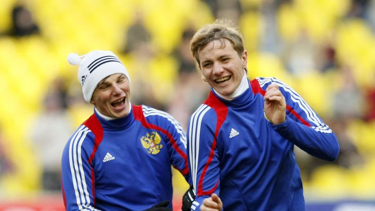 Андрей АРШАВИН и Роман ПАВЛЮЧЕНКО. Фото «СЭ»