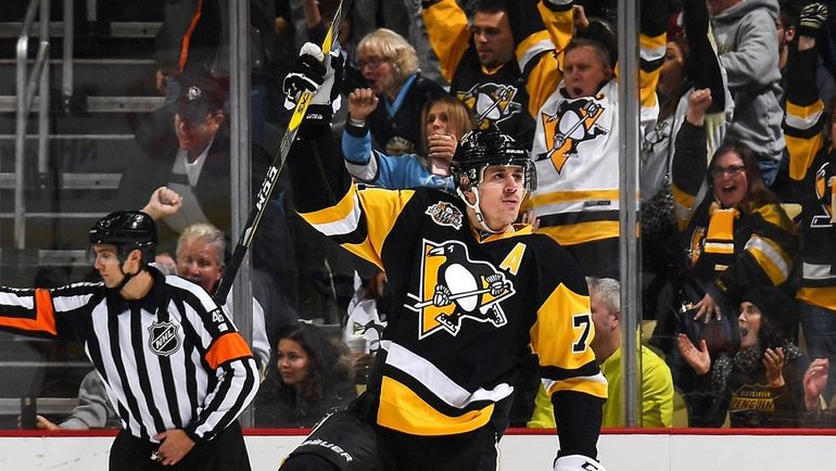 "Суббота. Питтсбург. ""Питтсбург"" - ""Монреаль"" - 4:3 ОТ. Евгений МАЛКИН - первая звезда матча. Фото Pittsburgh Penguins"
