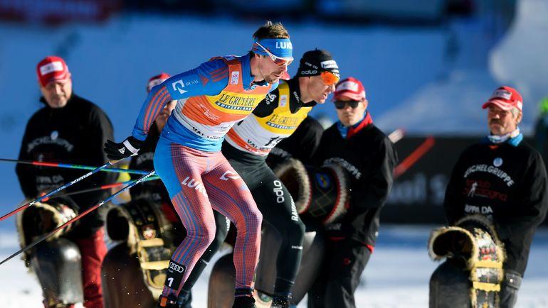 На дистанции Сергей УСТЮГОВ (слева) и Дарио КОЛОНЬЯ. Фото AFP