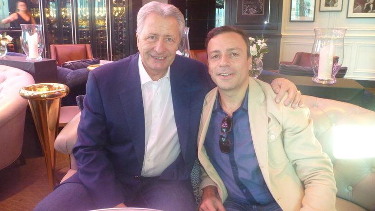 Александр ЯКУШЕВ (слева) и Игорь РАБИНЕР. Фото Игорь РАБИНЕР, «СЭ»
