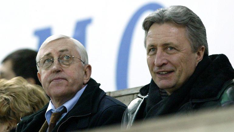 Александр ЯКУШЕВ (справа) и Борис МИХАЙЛОВ. Фото Федор УСПЕНСКИЙ, «СЭ»