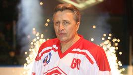 2007 год. Александр ЯКУШЕВ на матче по случаю своего 60-летия.