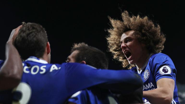 """Челси"" ДАВИДА ЛУИЗА: будет ли рекордная победа? Фото Reuters"