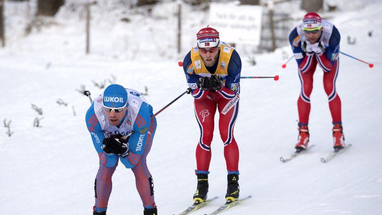 Сергей УСТЮГОВ (слева) и Мартин Йонсруд СУНДБЮ (в центре). Фото REUTERS
