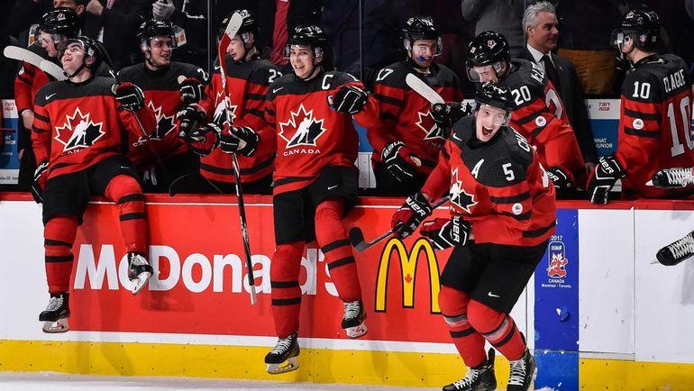 Сможет ли сборная Канады выиграть домашний чемпионат мира? Фото AFP