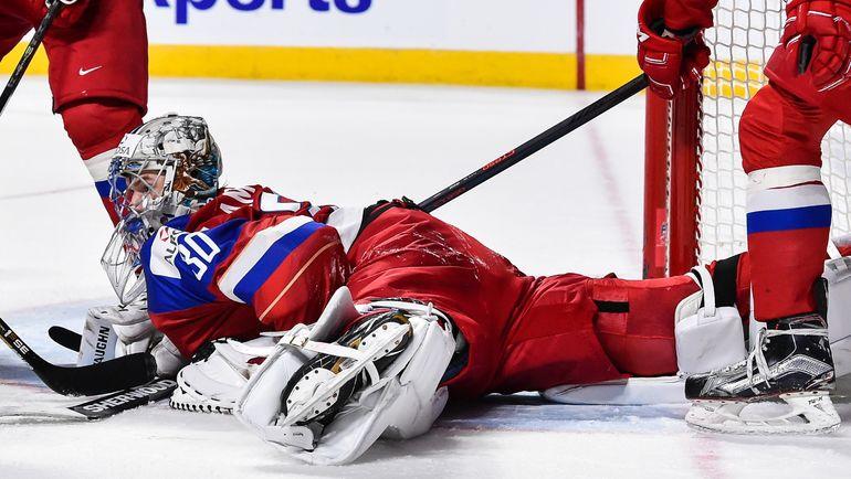 В игре Илья САМСОНОВ. Фото AFP