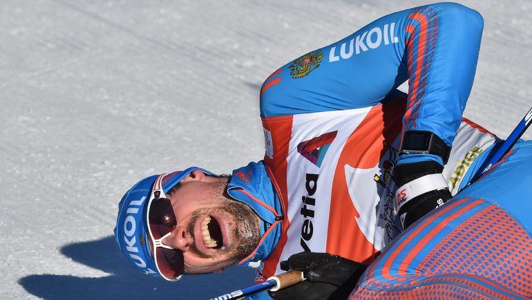 Сергей УСТЮГОВ на финише. Снова первый! Фото AFP