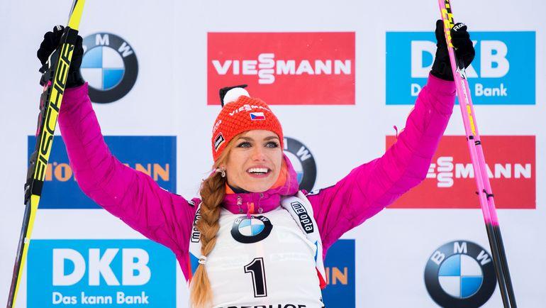 Габриэла КОУКАЛОВА выиграла спринт. Фото AFP
