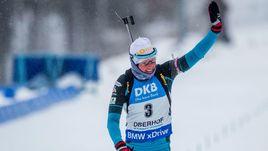 Сегодня. Оберхоф. Француженка Мари ДОРЕН-АБЕР выиграла гонку преследования.