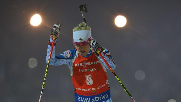 Татьяа АКИМОВА стартовала 14-й, а финишировала 32-й. Фото AFP