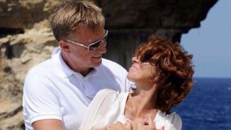 Сергей МАРКОЧ с супругой.