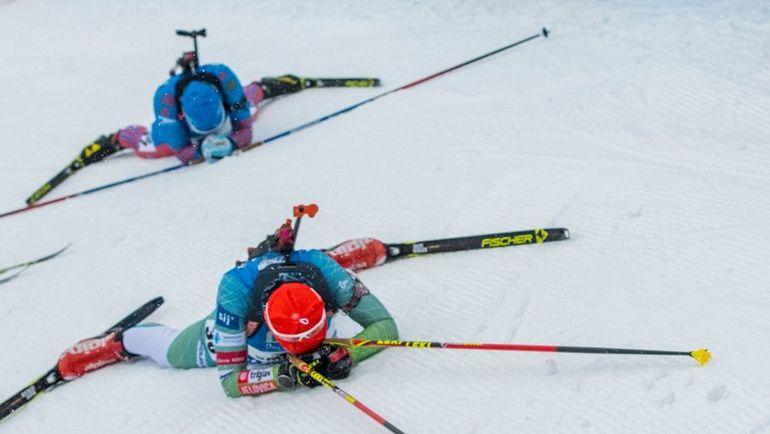 В Оберхофе россиянам ни разу не удалось попасть в медали. Фото AFP