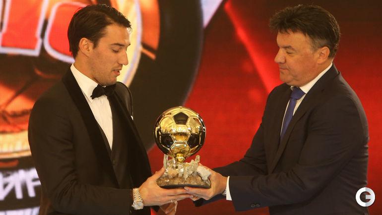Ивелин ПОПОВ - лучший футболист года в Болгарии.