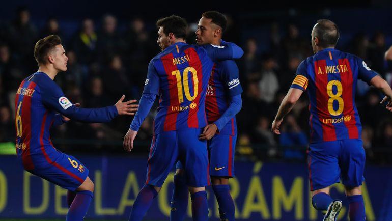 """""""Барселона"""": неожиданное поражение. Фото AFP"""