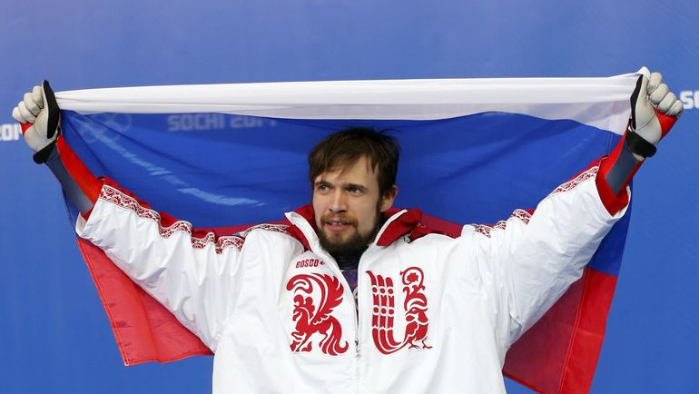 Олимпийский чемпион Сочи-2014 Александр ТРЕТЬЯКОВ. Фото AFP