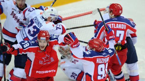 Москва увидела настоящий хоккей. СКА победил ЦСКА