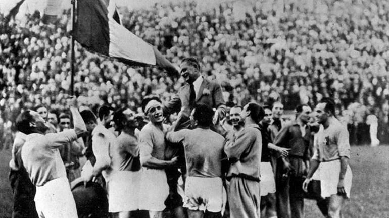 ЧМ-1934: Италия приняла турнир 16 сборных. Фото Reuters