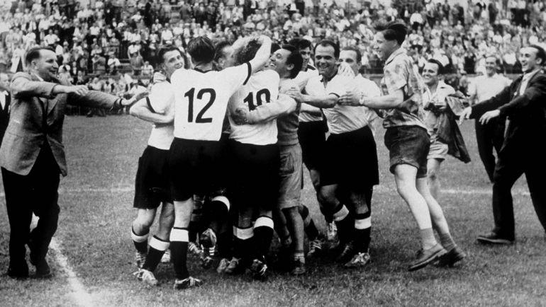 ЧМ-1954: Швейцария приняла турнир 16 сборных. Фото AFP