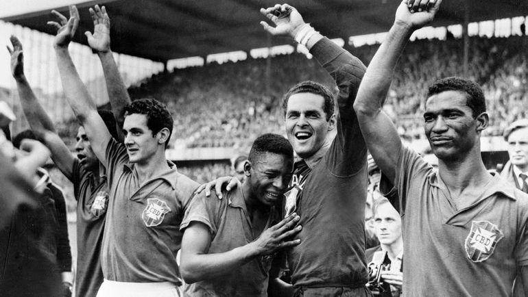 ЧМ-1958: Бразилия увезла Кубок из Европы. Фото Reuters