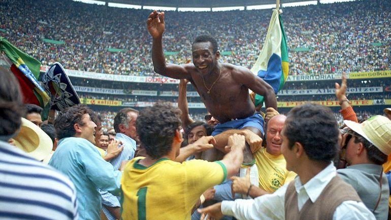 ЧМ-1970: ПЕЛЕ и Бразилии снова не было равных. Фото Reuters