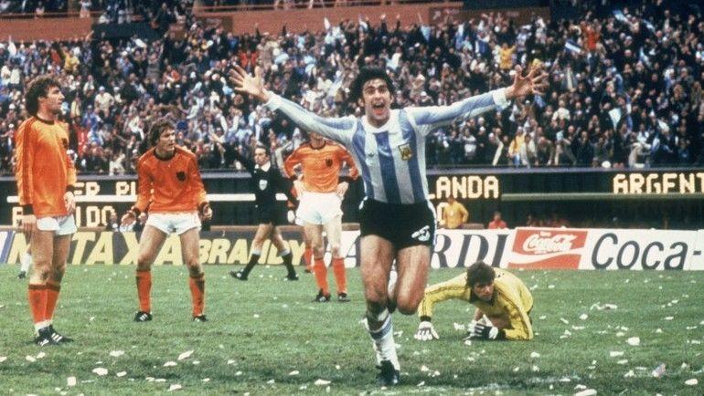 ЧМ-1978: Аргентина взяла Кубок на своем поле. Фото Reuters