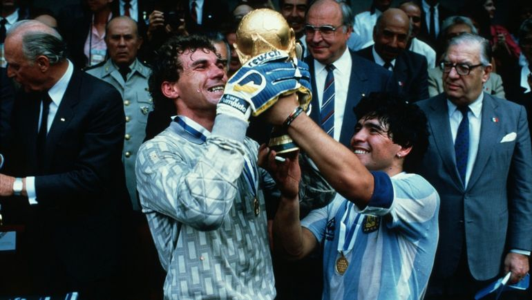 ЧМ-1986: Аргентина выиграла турнир в Мексике. Фото Reuters