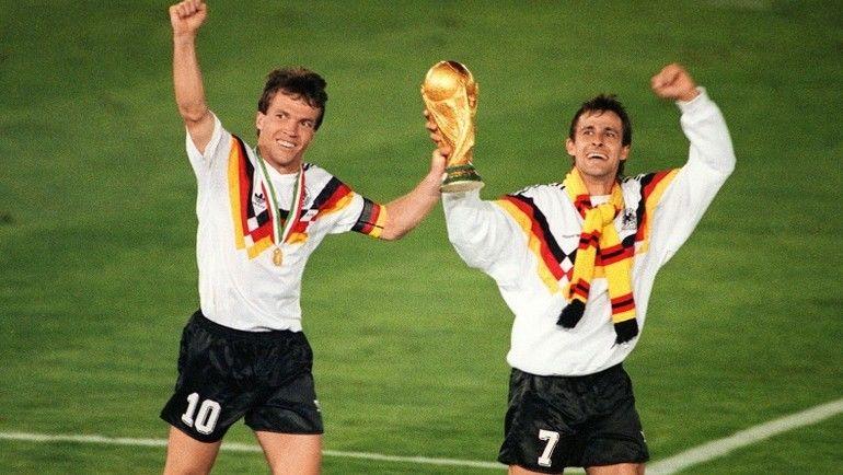 ЧМ-1990: Германия - чемпион в Италии. Фото Reuters