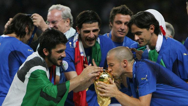 ЧМ-2006: Италия - чемпион в Германии. Фото Reuters
