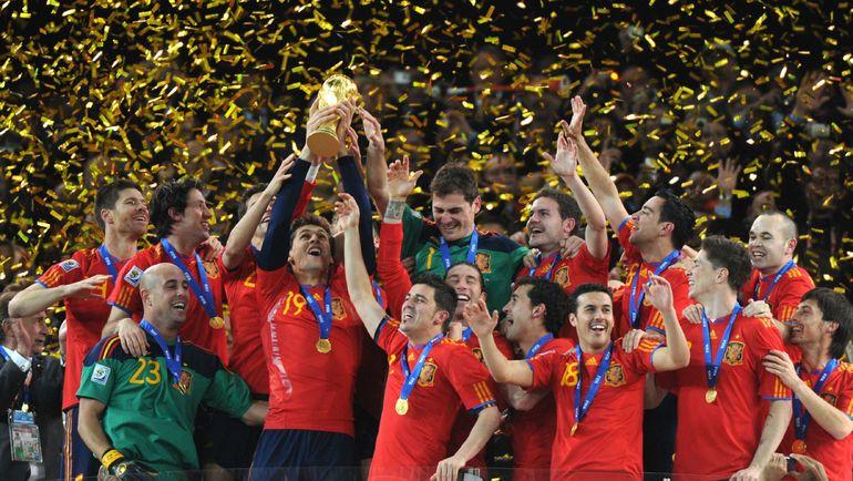 ЧМ-2010: Испания выиграла первый турнир в Африке. Фото Reuters