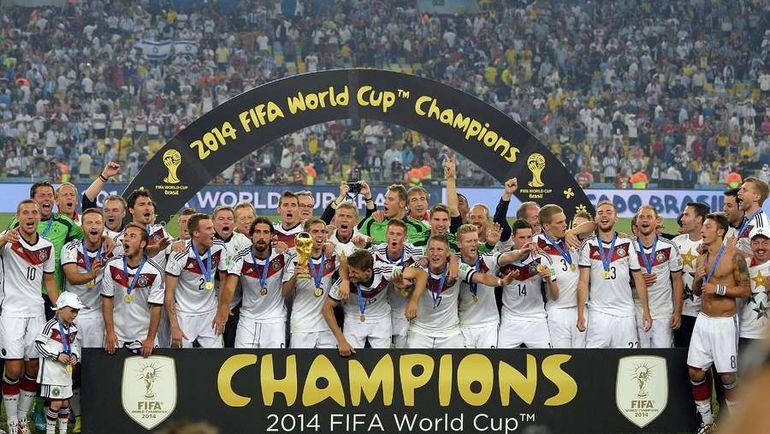 ЧМ-2014: Германия увезла Кубок из Бразилии. Фото AFP