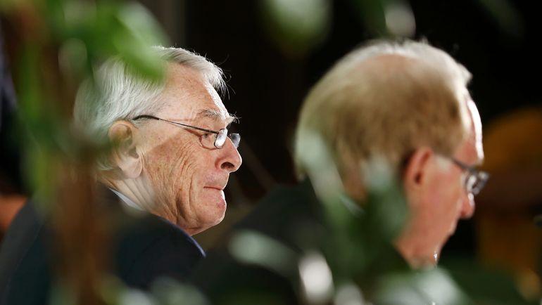 Эксперты ВАДА Ричард ПАУНД и Ричард МАКЛАРЕН проделали немало работы. в результате которой на России обрушился поток допинговых обвинений. Фото AFP