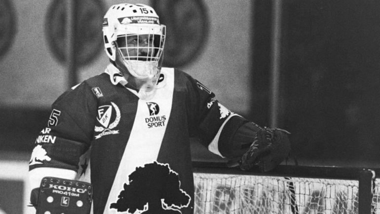 Пекка ЛИНДМАРК. Фото hockeysverige.se
