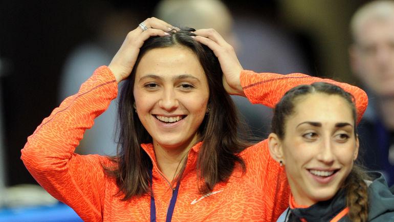 """Мария КУЧИНА (слева) и Екатерина КОНЕВА. Фото Никита УСПЕНСКИЙ, """"СЭ"""""""