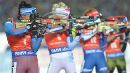 Россиянки постараются повторить успех мужчин в эстафете в Рупольдинге.