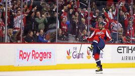 "Среда. Вашингтон. ""Вашингтон"" – ""Питтсбург"" – 5:2. Александр ОВЕЧКИН празднует 1000-е очко в НХЛ."