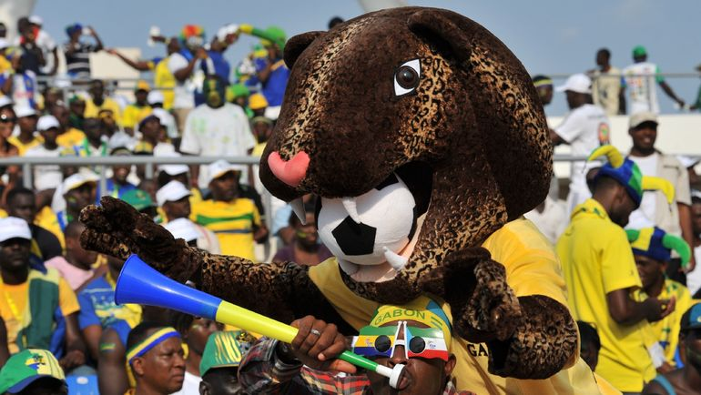 Болельщики сборной Габона. Фото AFP
