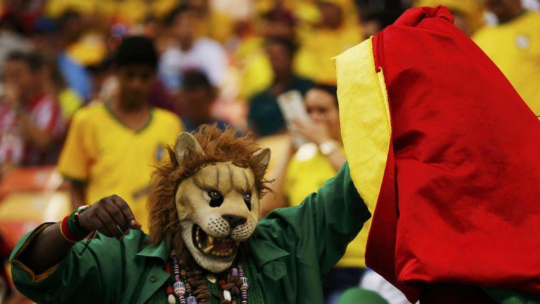 Болельщик сборной Камеруна. Фото REUTERS