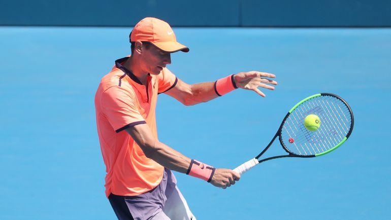 Андрей КУЗНЕЦОВ в первом круге Australian Open-2017 сыграет с Кеи Нишикори. Фото AFP