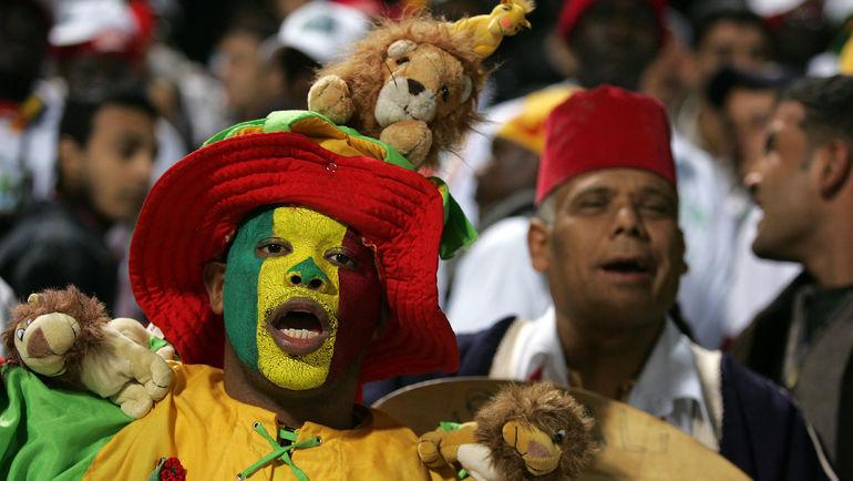 Болельщик сборной Сенегала. Фото AFP