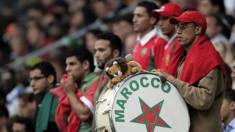 Болельщики сборной Марокко. Фото AFP