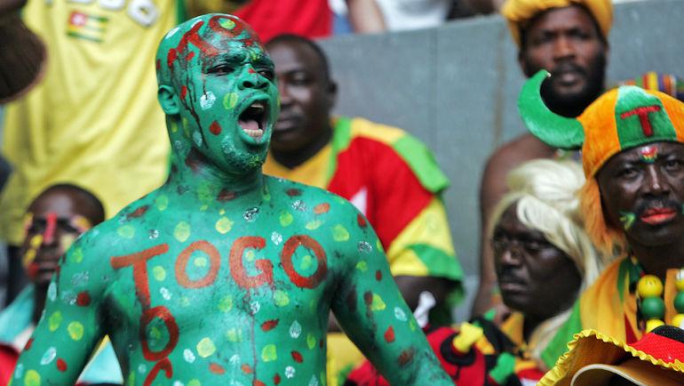Болельщик сборной Того. Фото AFP