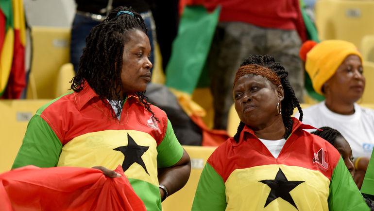 Болельщицы сборной Ганы. Фото AFP