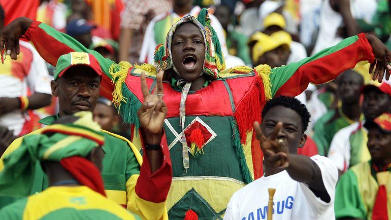Болельщики сборной Мали. Фото AFP