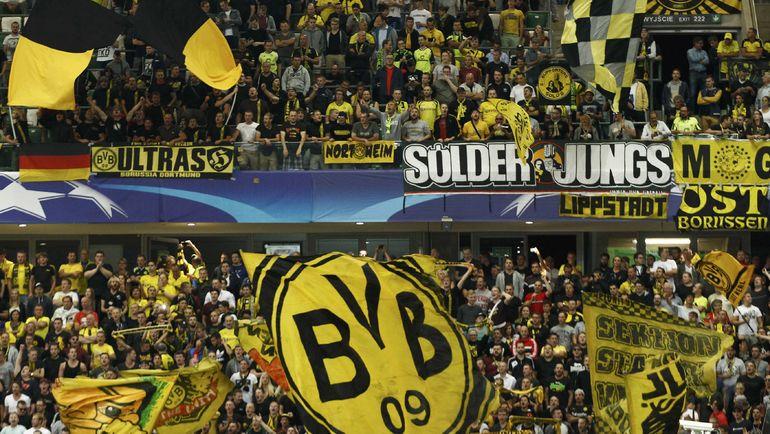 Средняя посещаемость матчей бундеслиги 43 300 зрителей. Фото REUTERS