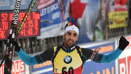 Фуркад - победитель спринта в Рупольдинге