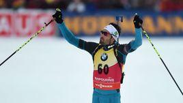 Мартен ФУРКАД - победитель спринтерской гонки в Рупольдинге.