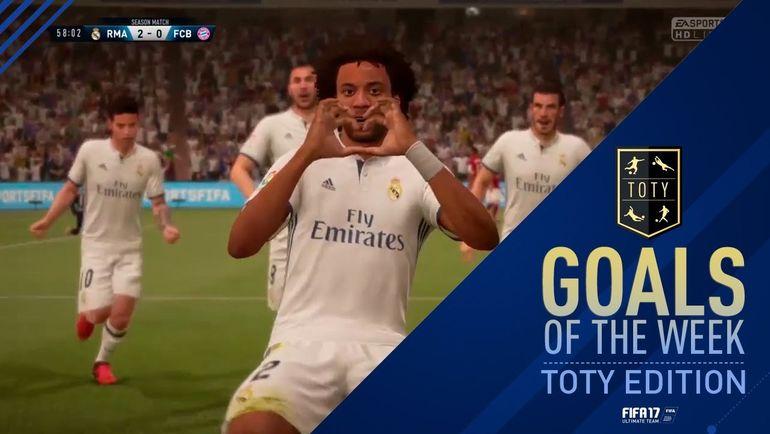 Лучшие голы недели. Фото EA Sports.