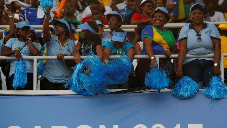 Болельщицы сборной Габона. Фото Reuters