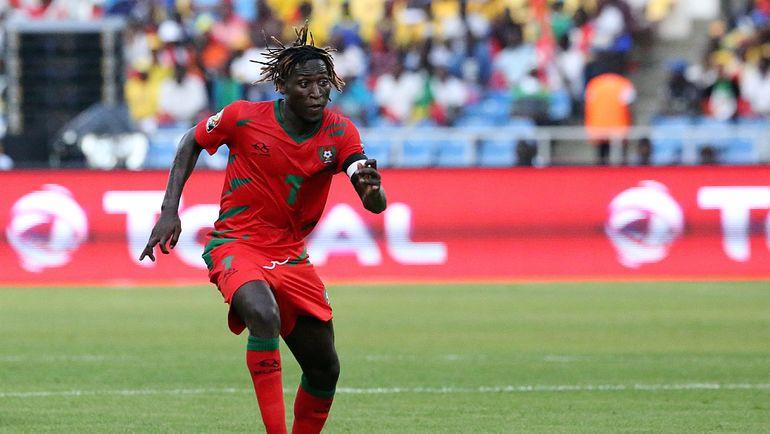 Полузащитник сборной Гвинеи-Бисау ЗЕЗИНЬЮ. Фото AFP